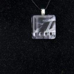 Film Strip Pendant on Black Cord